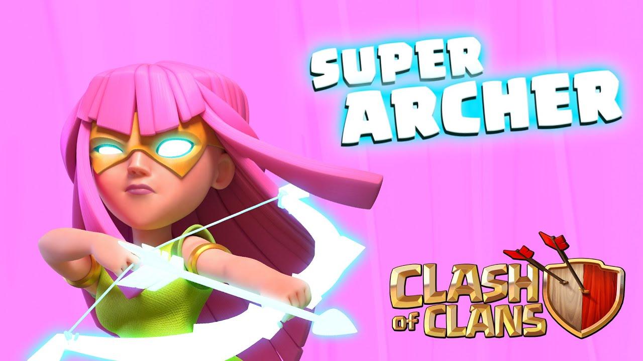 SUPER ARCHER - SIÊU CUNG THỦ đã có mặt ở CLASH OF CLANS