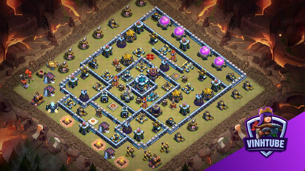 [5500 Cup] Best Th13 Legend League Base Link | Clash of Clans Link Base Copy