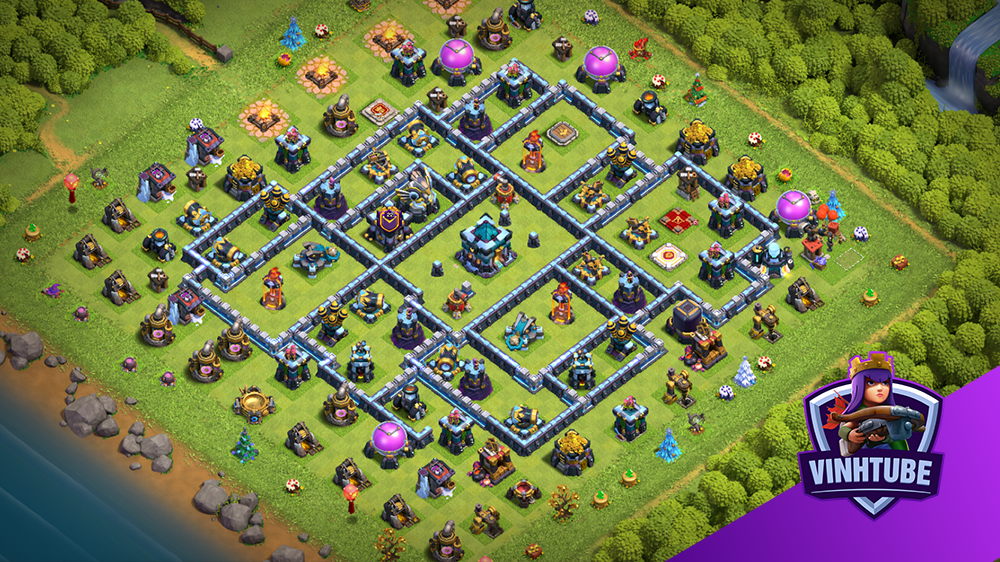 Base Link TH13 War/Bay Cup Legend | Clash of Clans Base Link Copy
