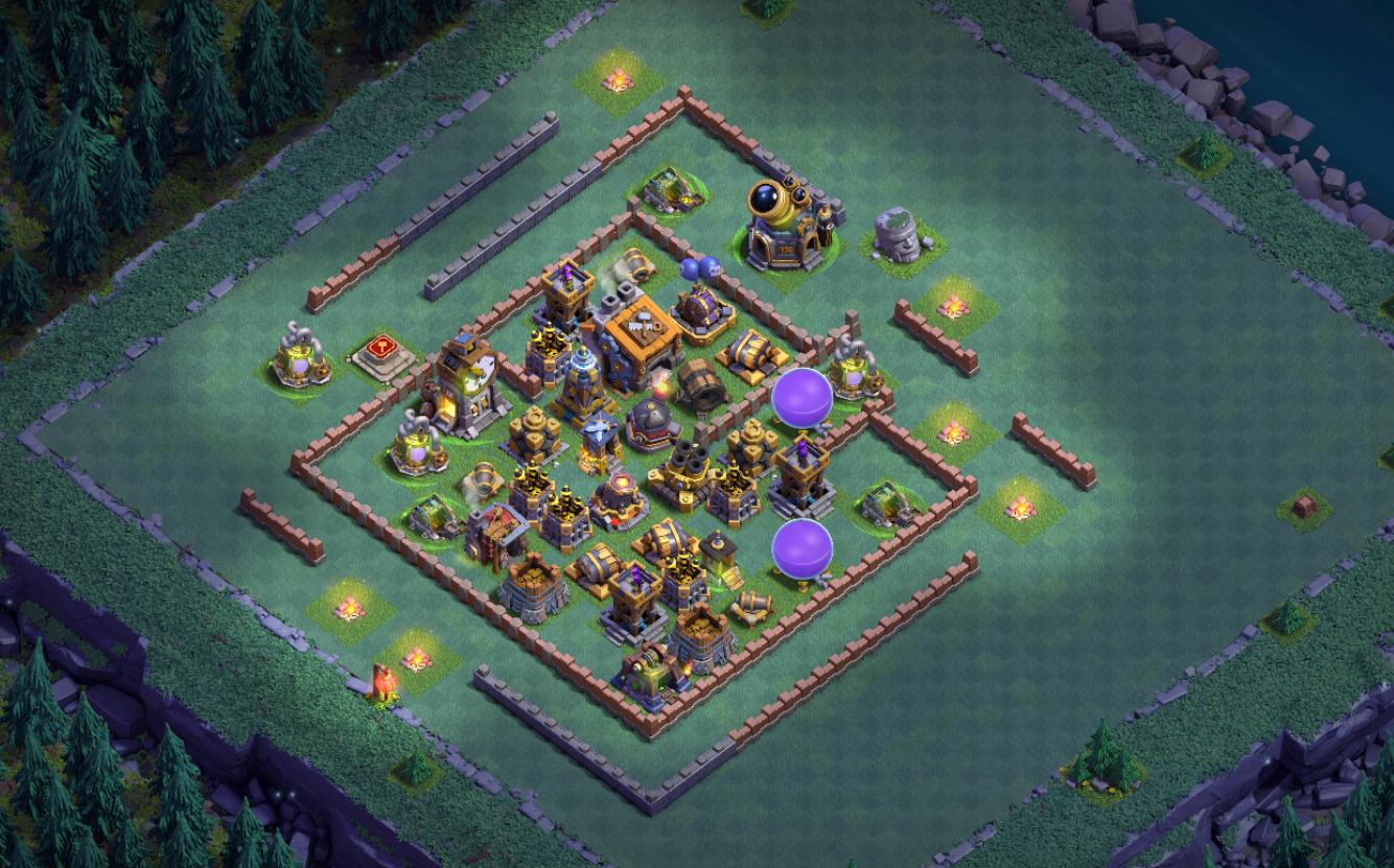 [Update BH9 Base] Mẫu Builder Hall 9 chống 2 sao hiệu quả | Clash of Clans