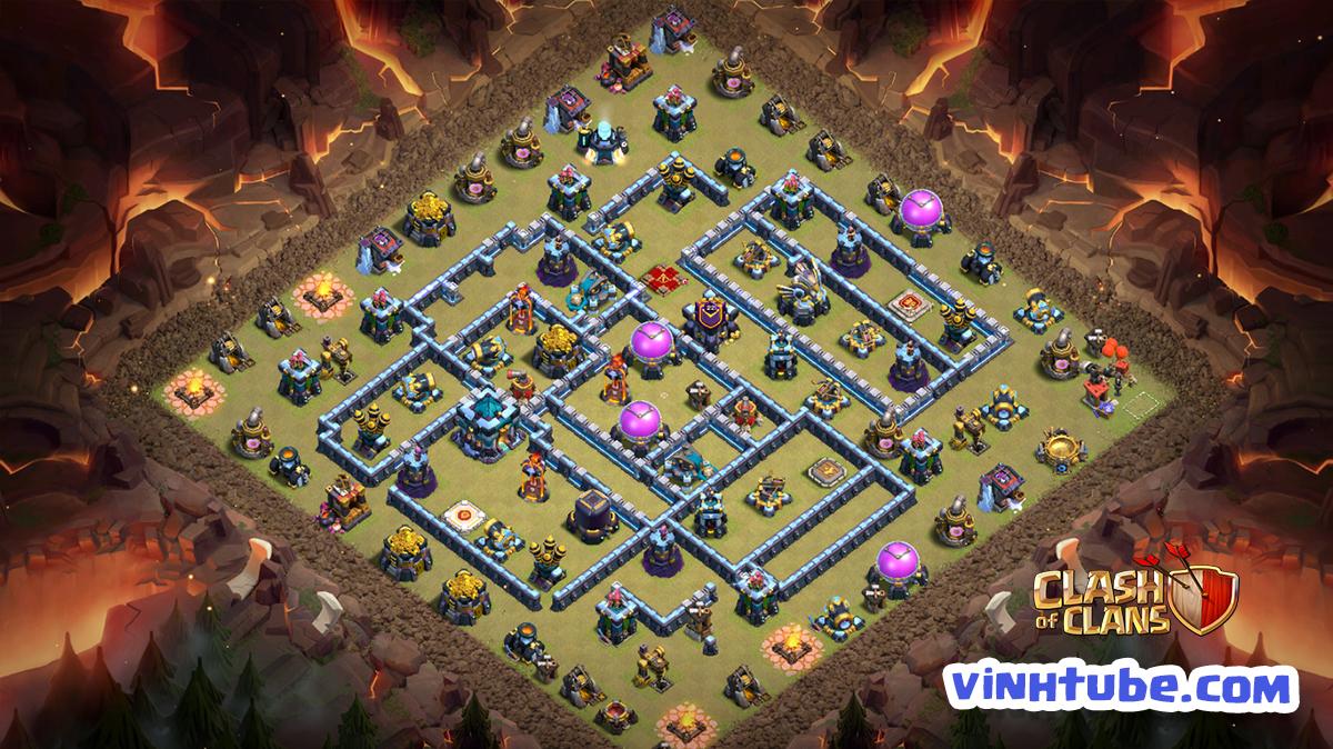 Copy Base Link TH13 Clan War League, Legend League | Clash of Clans