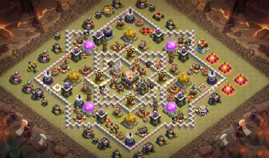 Base Link COC TH11 War/Trophy | War League Thủ Cup 2020 | Clash of Clans