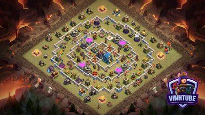 Base Town Hall 12 Thủ Tài Nguyên + Bay Cup | Clash of Clans 2020