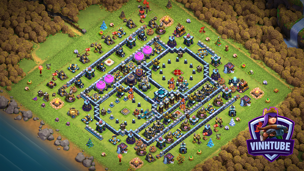 BASE TH13 FARM/TROPHY | Clash of Clans