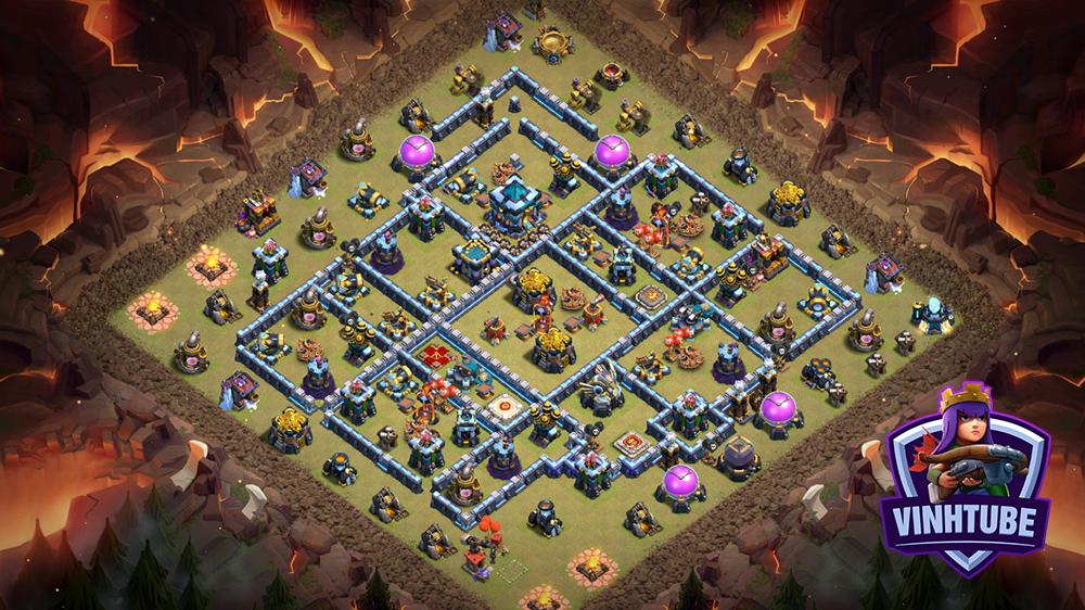 Best TH13 Base Link Thủ War/Bay Cup mới nhất | Clash of Clans 2020 TH13 design base link