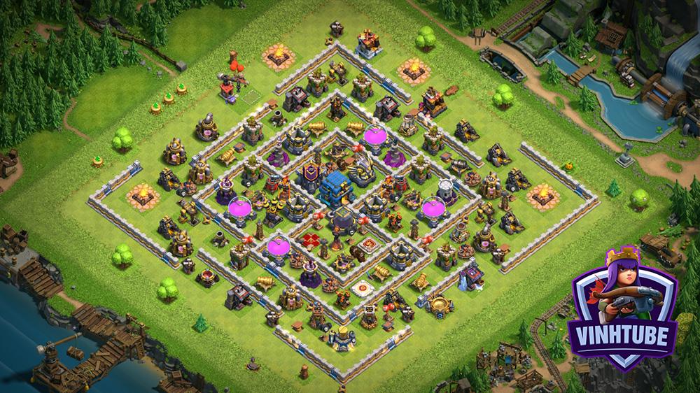 Town Hall 12 Thủ Tài Nguyên Leo Rank 2020 | Clash of Clans
