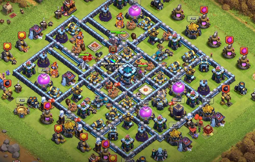 *New Town Hall 13 (TH13) Leo Rank Huyền Thoại Mới Nhất | Clash of Clans