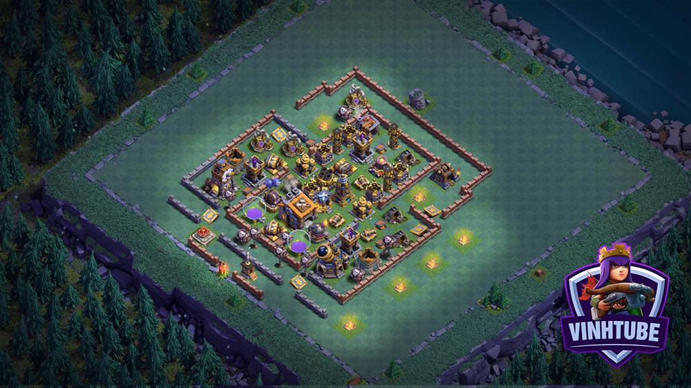 Copy Base Link nhà tối BH9 mới nhất | Builder Base BH9 | Clash of Clans