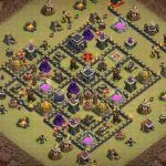 Farming Base TH13 with Link – plan / layout / design – Clash of Clans 2021