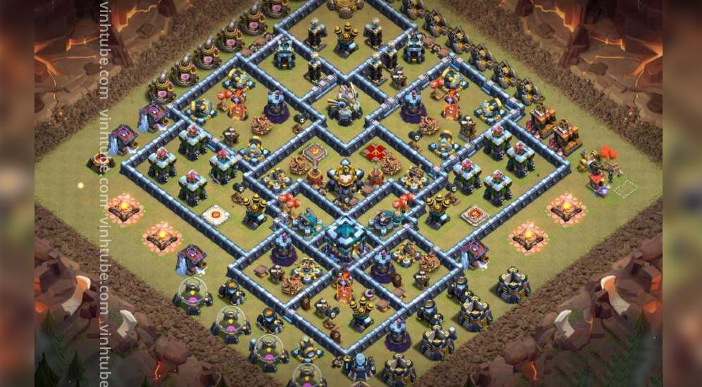 Chia sẻ mẫu Base Link TH13 CWL/War/Trophy base