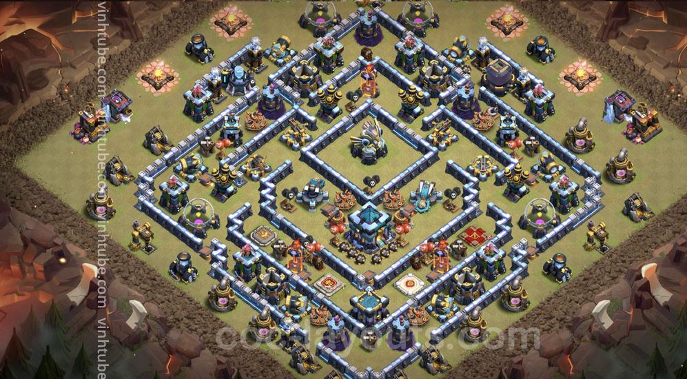 Update base link CWL WAR 2021 Town Hall 13 (TH13) Base