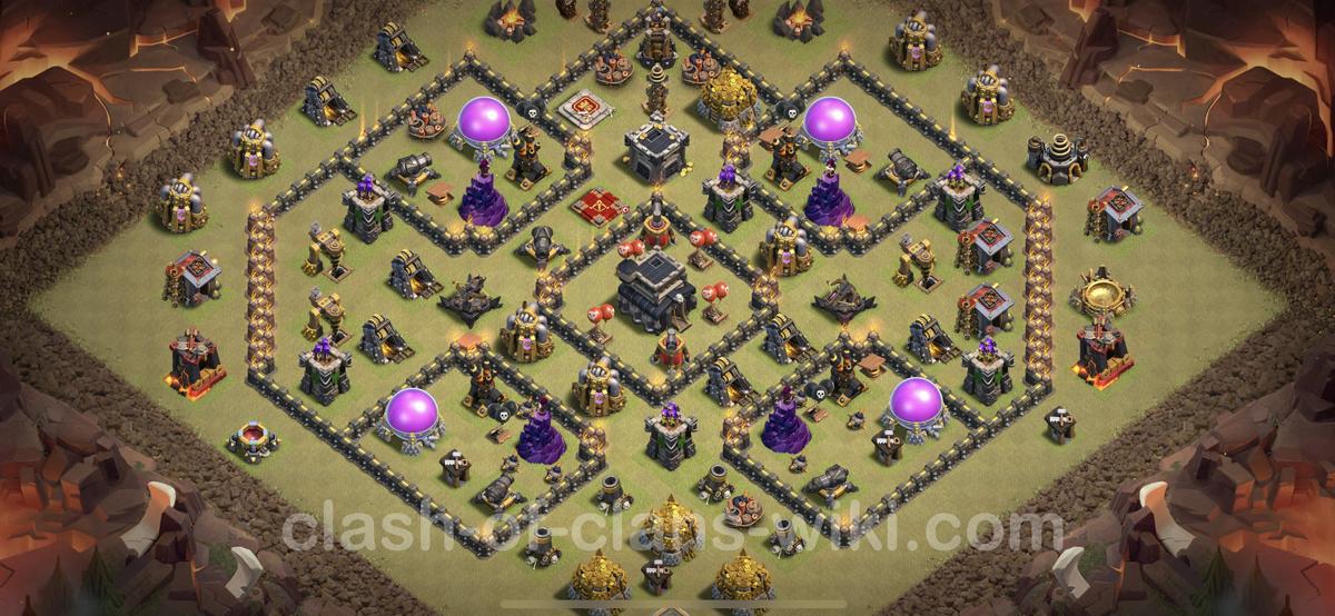 New Base link TH9 Clan War League 2021 | Update new base TH9 CWL 2021