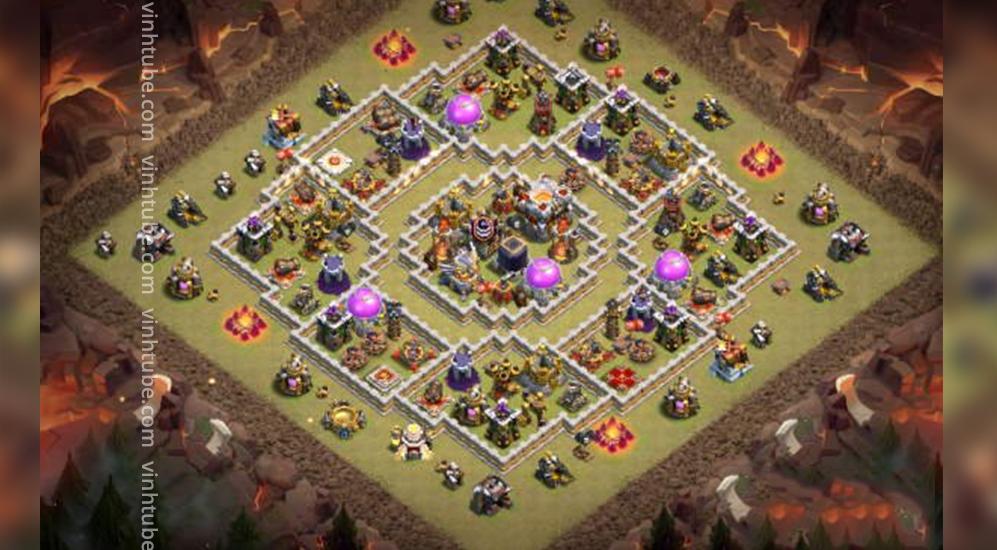 Share Base Link TH11 Hybrid/Farm/War base 2021 | Clash of Clans TH11 Base