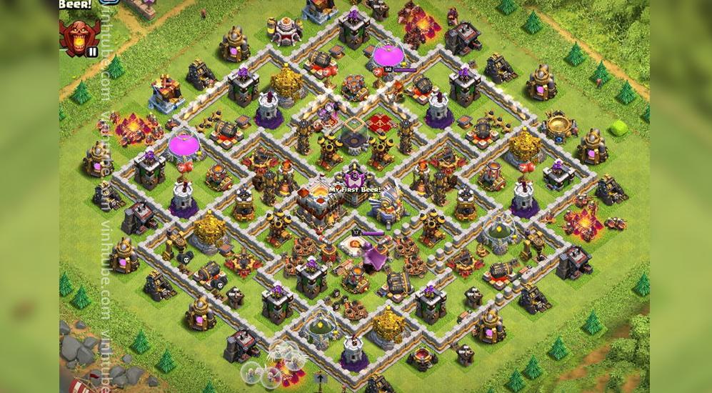 Update Base Link TH11 Trophy/War base