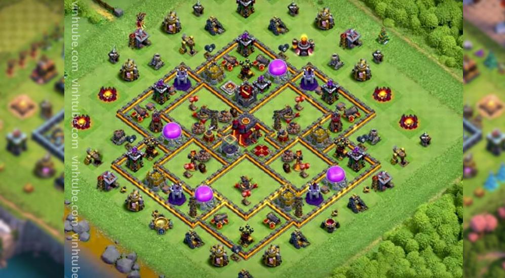[Town Hall 10] TH10 base link thủ War/thủ tài nguyên mới nhất 2021