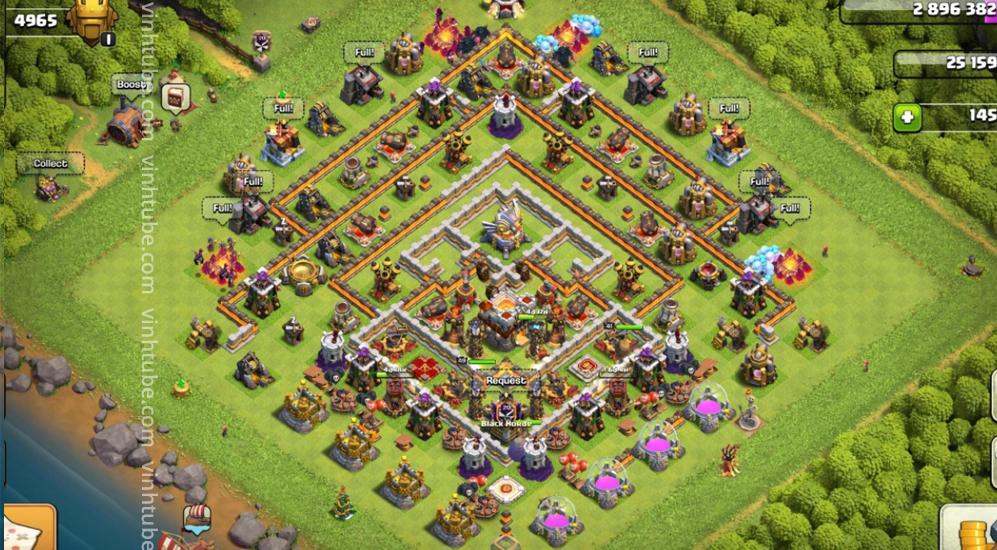 Base Link Town Hall 11 War/Trophy base