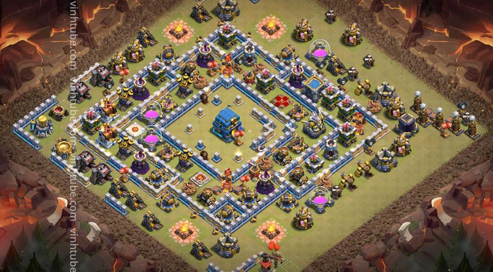 Base link TH12 War/Trophy New 2021 base