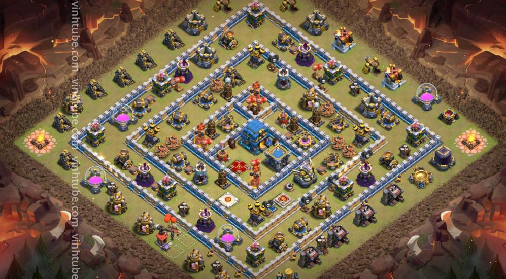 War base link TH12 War/Trophy 2021 base