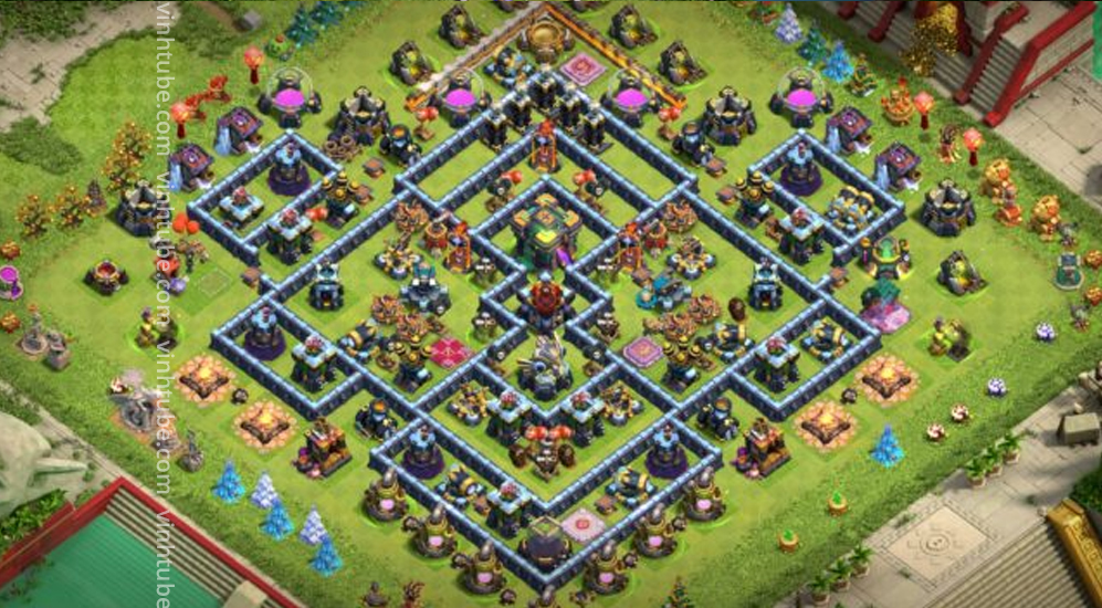 Best TH14 With Base Link 2021 | Clash of Clans 2021 base