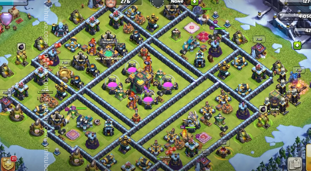 HOT NEW TOWN HALL 14 (TH14) BASE LINK 2021 | Clash of Clans