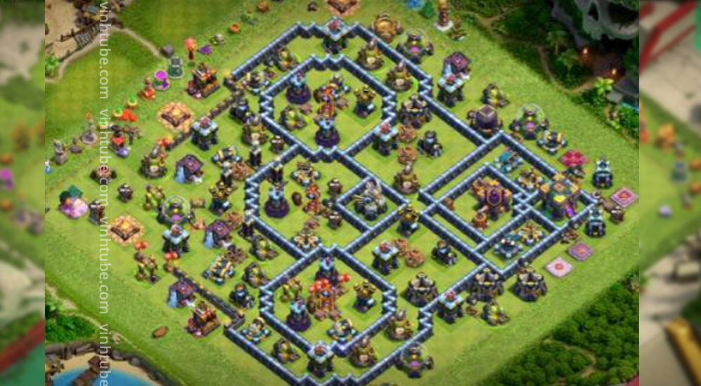 TH14 Base Link New Update   Clash of Clans base