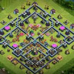 Copy layout Base Link War TH13 mới nhất base