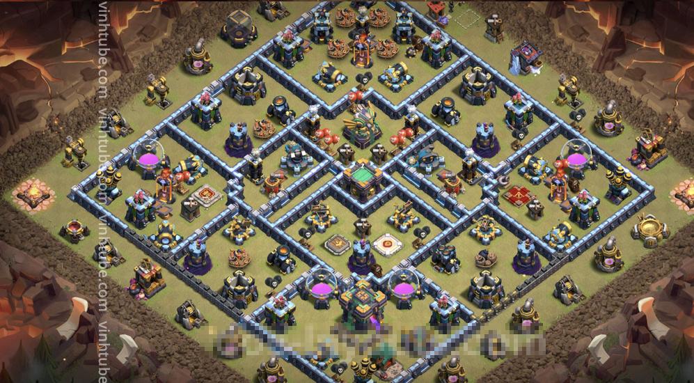 War Base TH14 with Link – Anti 3 Stars CWL Plan 2021 – Clash of Clans – #base