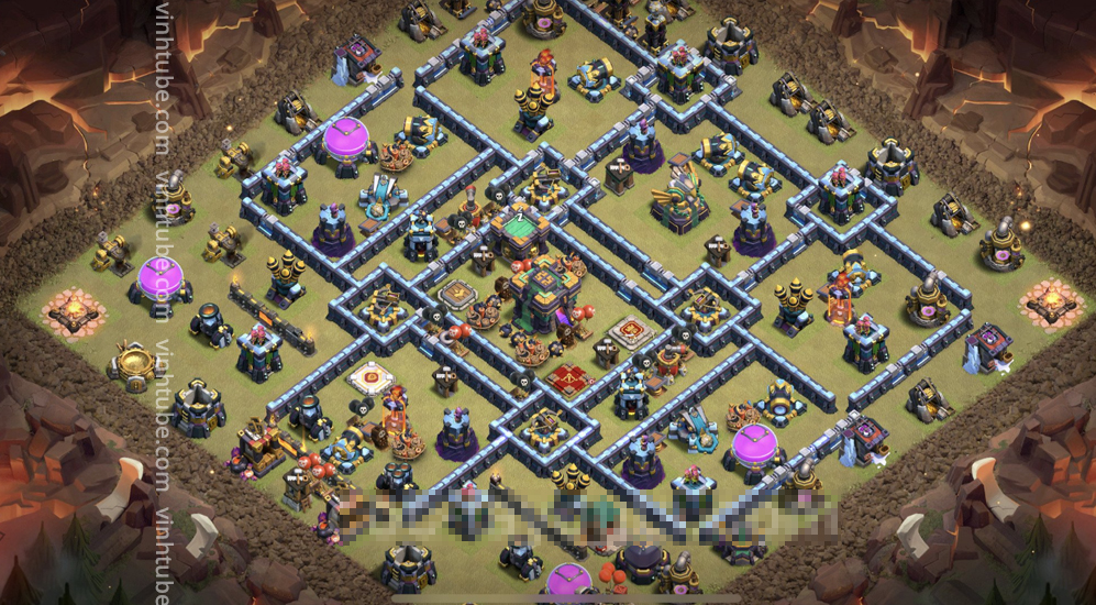 Base Link Th14 Anti combo Super Baby + Balloon – New Base Link Clash of Clans 2021 – Base