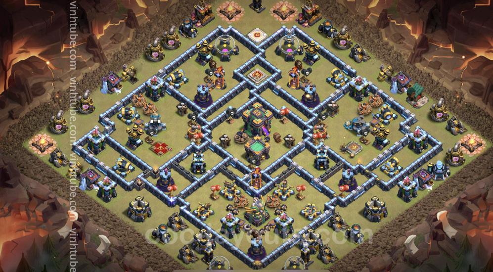 Super base TH14 – War/Clans War League/Trophy – Clash of clans 2021 – Base