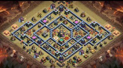 New Super Base Link TH14 anti 3 star CWL/Legend - Base