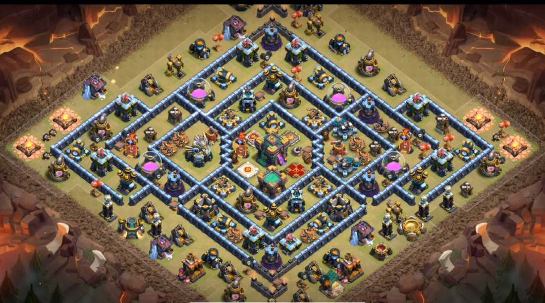 New Super Base Link TH14 anti 3 star CWL/Legend – Base