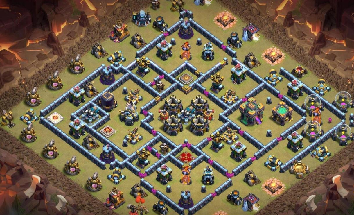 TH14 BASE! War + Farming! – Clash of Clans Base Link TH14 – Base