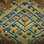 Mẫu Base TH12 thủ War Leo Rank Huyền Thoại này có làm cho anh em sao xuyến ???